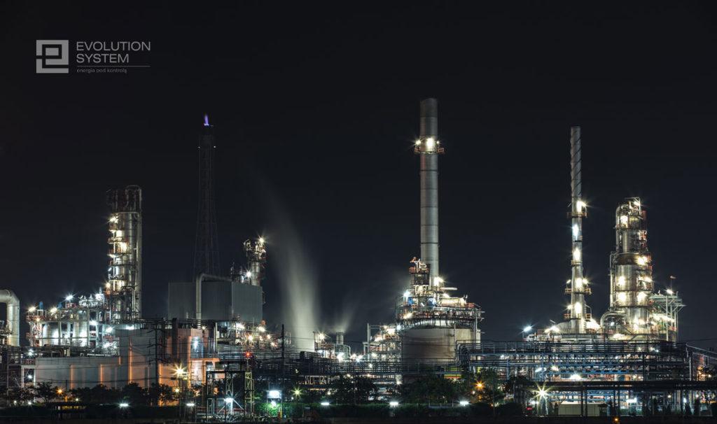 zarządzanie energią w fabryce